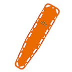Ultra-Vue 18 Backboard, 72inch x 18inch x 1 3/4inch, Without Pins, Orange