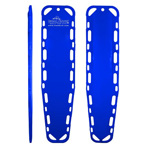Ultra-Vue 18 Backboard, 72inch x 18inch x 1 3/4inch, Without Pins, Blue
