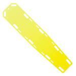 LSP HDx Backboard, w/10 Pins, 72inch x 16inch x 1 1/2inch, Yellow*Discontinued*