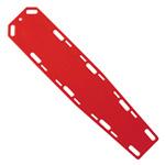 LSP HDx Backboard, w/o Pins, 72inch x 16inch x 1 1/2inch, Red