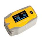 Adimals 2150 Pulse Oximeter, Digital, Fingertip, includes Case, Lanyard, Pediatric