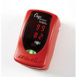 Curaplex® Select Onyx Vantage 9590 Finger Pulse Oximeter, Red