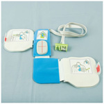 CPR-D padz Defibrillator and CPR System, One-Piece