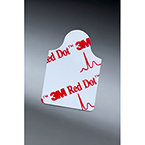 Red Dot™ Resting EKG Electrode 2330, Tab Style, 2cm x 2cm