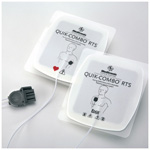 EDGE System RTS Defib/Pacing/ECG Pads with QUIK-COMBO Connector