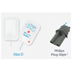 PadPro Multifunction Defib Pads, Radiotranslucent, Philips Plug-Style Connector, 4.25in x 2.875in, Infant less than 10kg