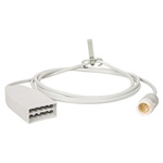 10 Lead ECG Trunk Cable for a 5 Lead Monitor Cable, 6.5 foot, for MP2 and MRx