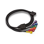 V Lead Patient Cable for 12 Lead ECG, 2 1/2 ft