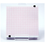 Chart Paper, 90mm x 90mm x 200 sheets Fanfold Pad, for Zoll M series*LIMITED QUANTITY*