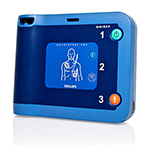 FRx AED, Ready Pack, Includes Carry Case and Spare HeartStart SMART Pads II