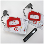 Replacement Kit for Charge-Pak; Battery charger and QUIK-PAK pacing/defibrillation/ECG electrodes.