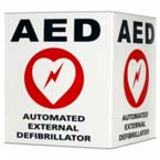 AED 3D Wall Sign Kit