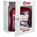 Curaplex? Stop The Bleed? Wall Cabinet, White, Metal