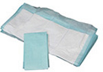 Fluff Underpad / Chux, Rayon Filled, Non-Sterile, 17inch x 24inch
