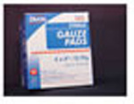 Gauze Pad, Sterile, 100% Woven Cotton, 12 Ply, 4inch x 4inch, 25pk/Box