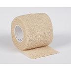 Cohesive Bandage, Non-Sterile, Self Adhesive Wrap, Tan, 2inch