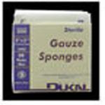 Gauze Sponge, Sterile, 8 Ply, 2inch x 2inch