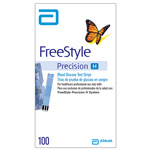 FreeStyle Precision H Glucose Test Strips, for use w/Capillary, Venous/Arterial Blood