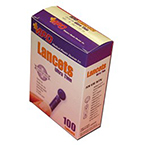 Ultra Thin Lancet, Purple