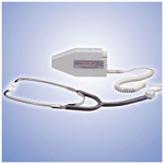 MedaSonics Blood Flow Doppler incl Stethoscope Headset, Gel, Battery, Case
