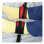Posey Non-Locking Twice-as-Tough Cuffs, Neoprene, for Ankle, 1/Pair