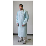 Impervious Personal Protection Gown, Blue, Universal Size