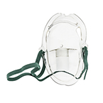 Aerosol Mask w/Elastic Strap, Elongated, Adjustable Nose Strap, Adult
