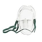 Aerosol Mask w/Elastic Strap, Elongated, Adjustable Nose Strap, Adult