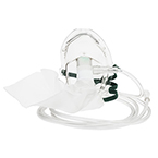 Oxygen Mask, Partial Non-Rebreather, Adult, Elongated, High Concentration