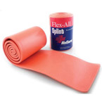 Flex-All Splint, Bendable Foam and Aluminum, Orange, 36inch x 4inch, Flat Folded