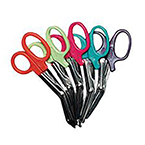 *Limited Quantity* EMS Shears, Deluxe, Comfort Grip Handle, Safety Bandage Tip, 5 1/2inch, Magenta