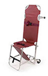 Ferno Model 107 Stair Chair, Burgundy