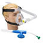 BiTrac ED Mask and Head Strap, Adult LG