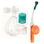 O2-MAX Fixed Flow 3-SET CPAP, Bitrac ED Mask with Full Cap Headgear, Adult MED*Discontinued*