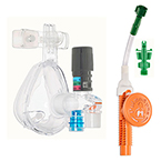 O2-MAX Var Flow 5-SET O2-CPAP, w/Integrated Neb, Bitrac ED Mask w/Ohmeda Quik-Connect, Adult MED