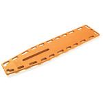 Ferno Najo Lite Backboard, Without Pins, Orange