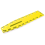 Ferno Najo Lite Backboard, Without Pins, Yellow