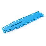 NAJO Lite Backboard, with 10 Pins, Blue, 14.5 Lb, 16 in W X 2 in H X 72 in L