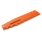 NAJO Lite Backboard, with 10 Pins, Orange, 14.5 Lb, 16 in W X 2 in H X 72 in L