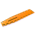 NAJO Lite Backboard, with 18 Pins, Orange, 14.5 Lb, 16 in W X 2 in H X 72 in L