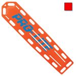 PRO-LITE Spineboard, w/Pins, 72inch Long x 16inch Wide x 2 1/4inch Deep, Red *Discontinued*