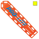 PRO-LITE Spineboard, w/Pins, 72inch Long x 16inch Wide x 2 1/4inch Deep, Neon Yellow*Discontinued*