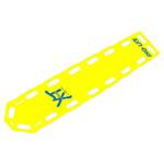 PRO-LITE XT Backboard, 72inch x 18inch x 2 1/4inch, Yellow
