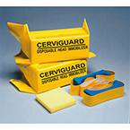 Head Immobilizer Cerviguard Blocks, with Foam Straps
