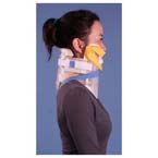 XCollar Cervical Splint, Fits Children through Large Adults, Clear