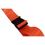 BioThane G1 Restraint Strap, 1 pc, 7ft, Plastic Side Release Buckle, Orange