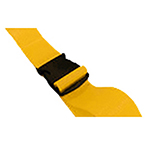BioThane G1 Restraint Strap, 1 pc, 7ft, Plastic Side Release Buckle, Yellow
