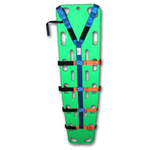 Y Body Strap System, Nylon, w/Case, Blue and Orange