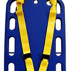 Shoulder Harness Strap System, Shoulder Only, Yellow, 2 inch Nylon, pair