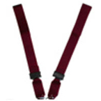 Shoulder Straps Only, 7 ft, Impervious, for the Shoulder Harness Strap System, Yellow